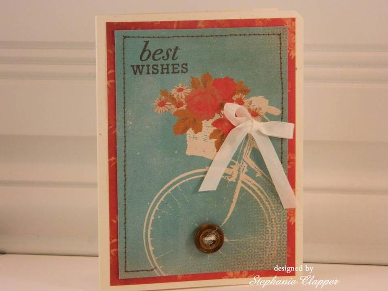 Best Wishes (on wheels) Card