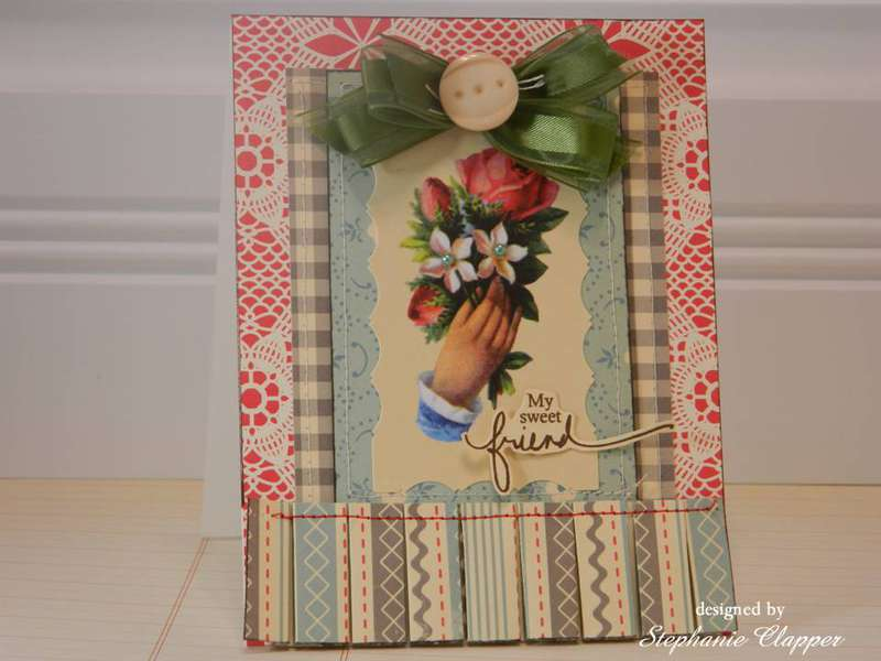 For My Sweet Friend Card