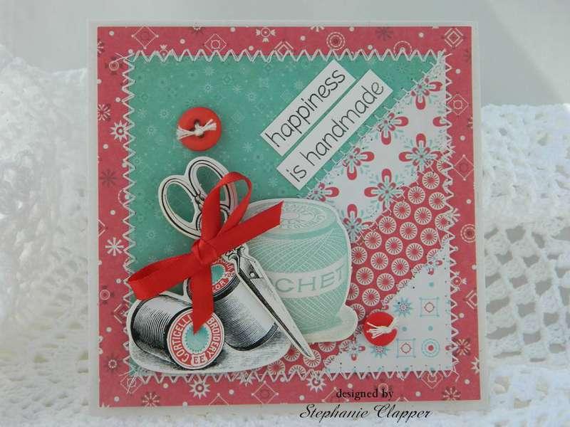 Happiness is Handmade Card
