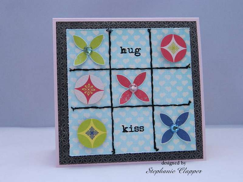 hug and kiss card