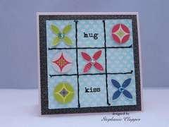 hug and kiss card