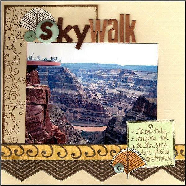 Skywalk  {Color Combos Galore #98}