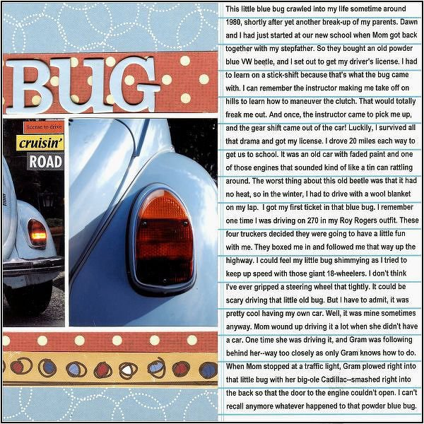 Tales of a Blue Bug