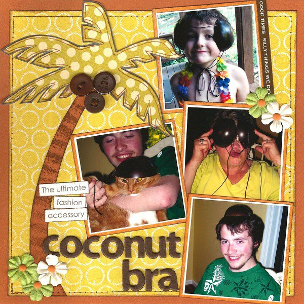 Coconut Bra {Color Combos Galore #136}