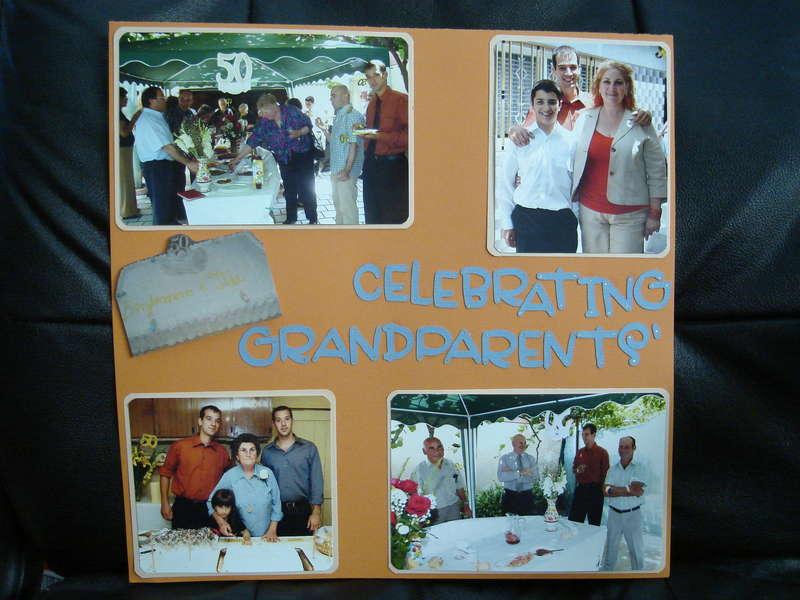 Celebrating Grandparents'