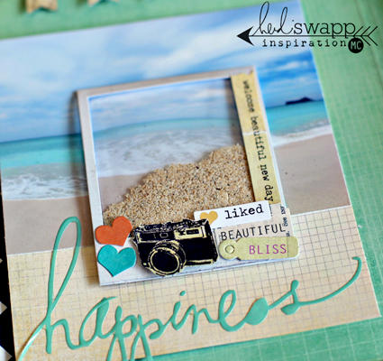 Heidi Swapp Hybrid Mini Memory File album