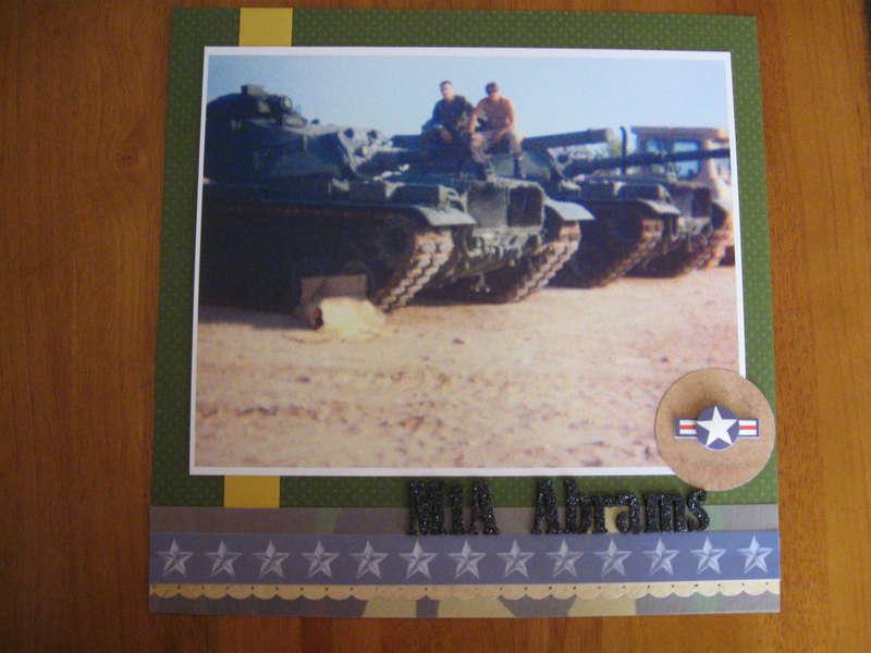 M1A Abrams Tank