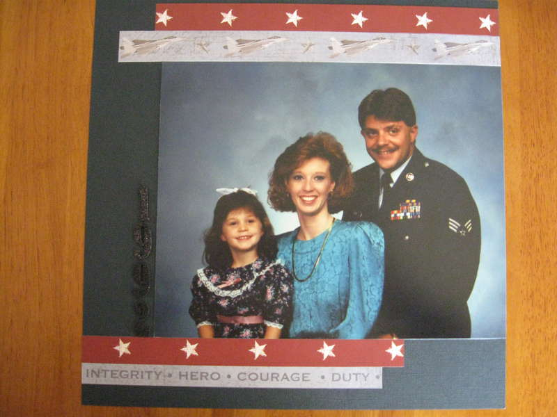 1992 Air Force Family Portrait