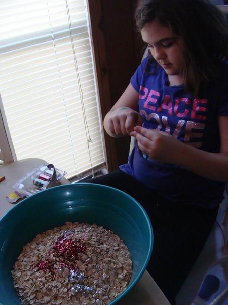 Making Reindeer food