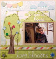 At nonni's house, love blooms