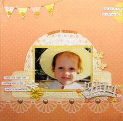Ella's Easter Bonnet