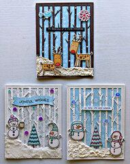 A few winter cards