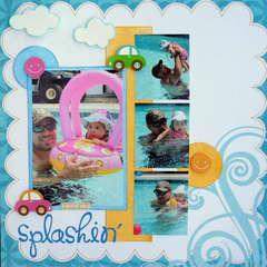 Just splashin'