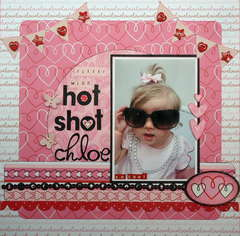 Little Miss Hot Shot Chloe