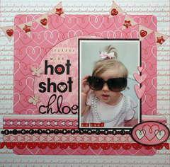 Little Miss Hot Shot Chloe