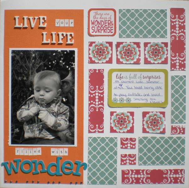 Live Your Life Filled With Wonder