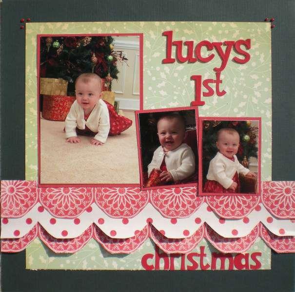 Lucys 1st christmas