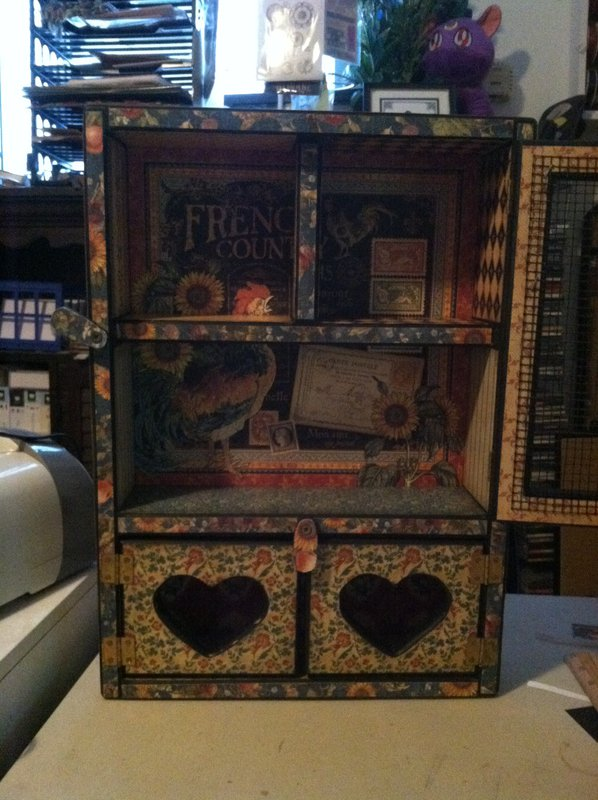 G45 French Country Altered Cabinet4