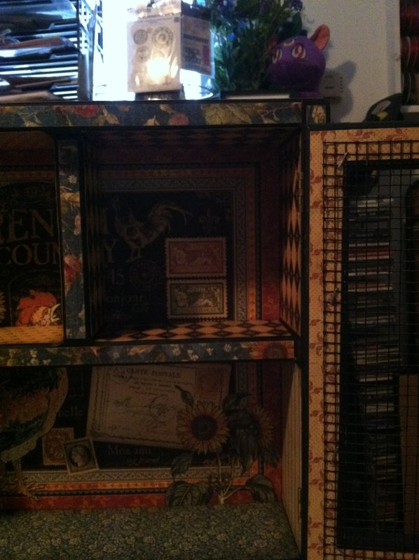 G45 French Country Altered Cabinet 5