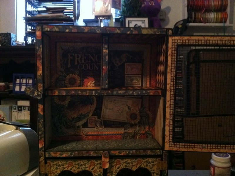 G45 French Country Altered Cabinet2