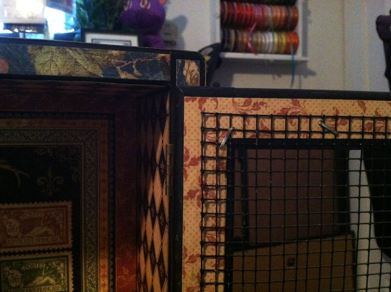 G45 French Country Altered Cabinet
