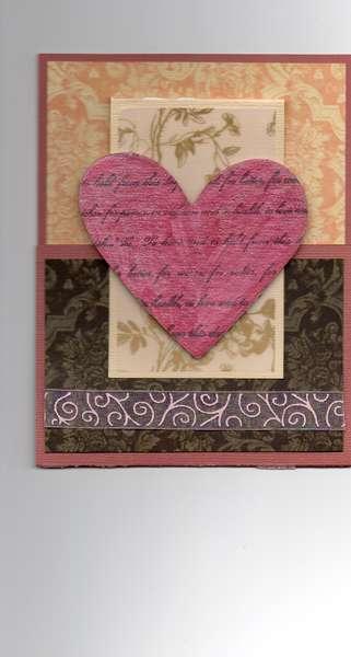 2012 Valentine's Day Joy Fold Card 5