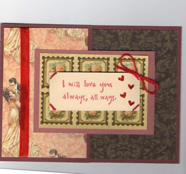 2012 Valentine's Day Joy Fold Card3