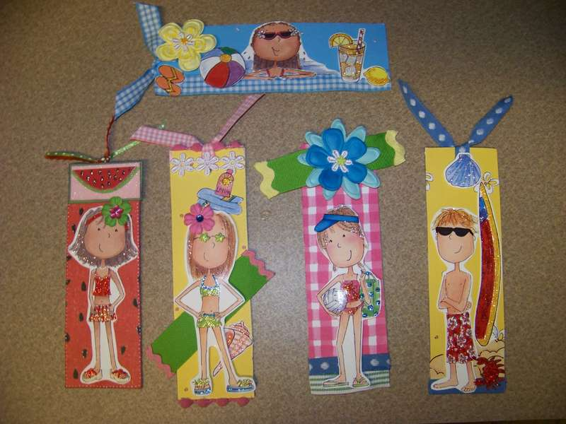 Summer Bookmarks for swap