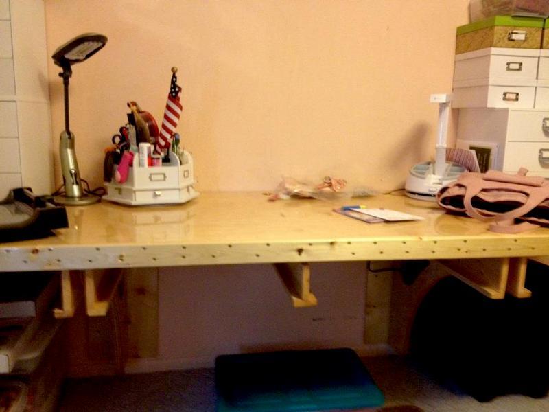 Mom's new desk