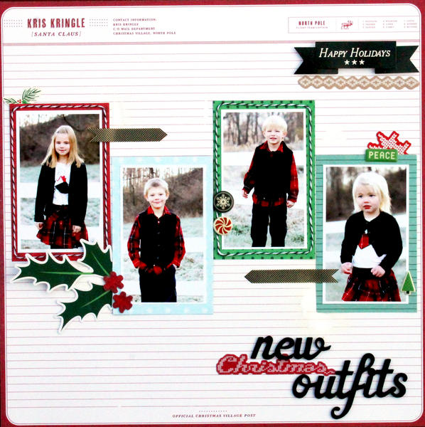 New Christmas Outfits *American Crafts*