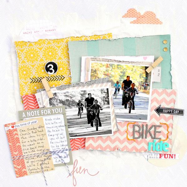 Bike Ride  *Elle's Studio*