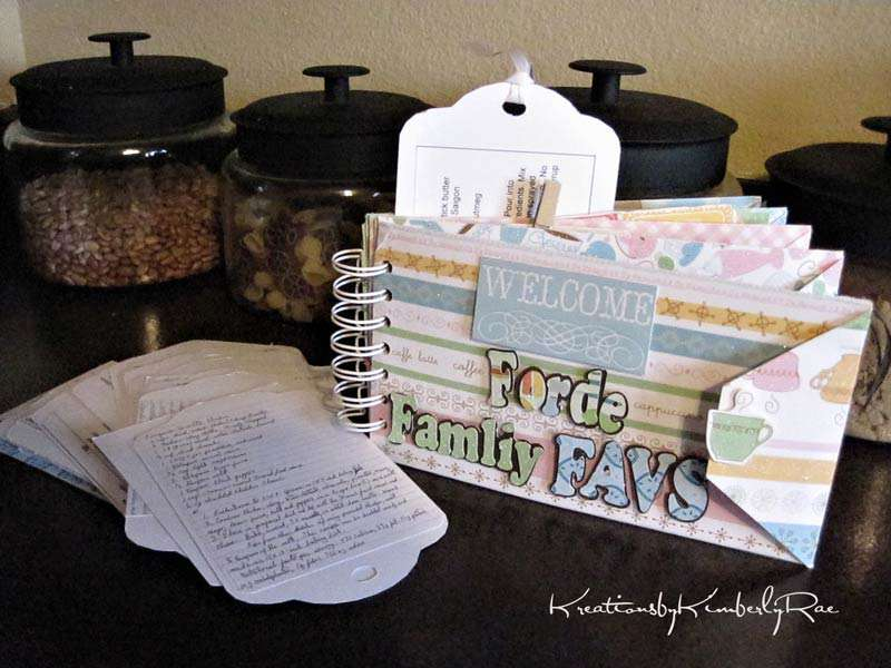 ::Forde Family Favs-a Recipe Book by KimberlyRae::DCWV