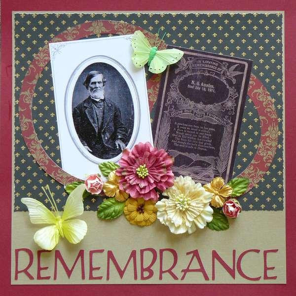 """Remembrance"""