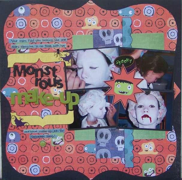 Monstrous Make-up