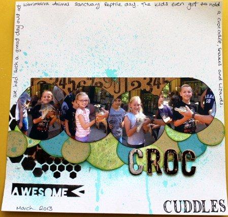 Croc Cuddles