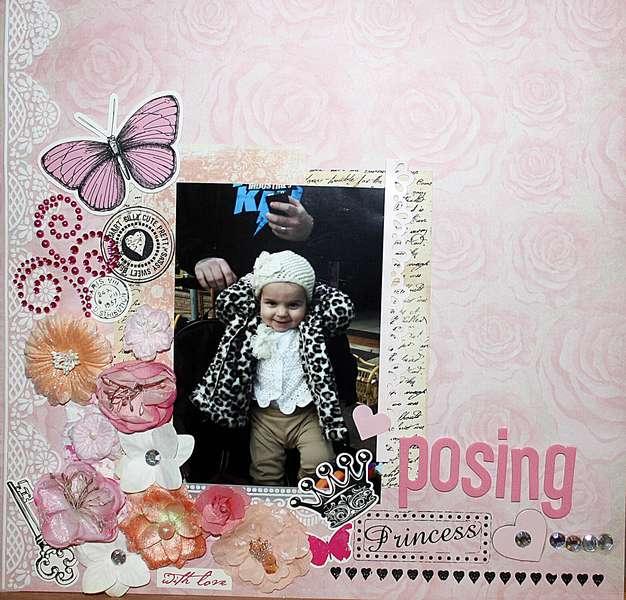 Posing Princess