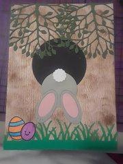 Bunny hiding