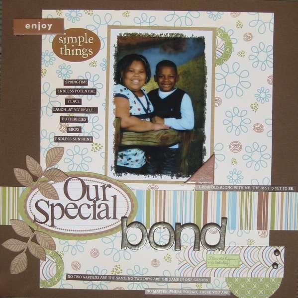Our Special Bond