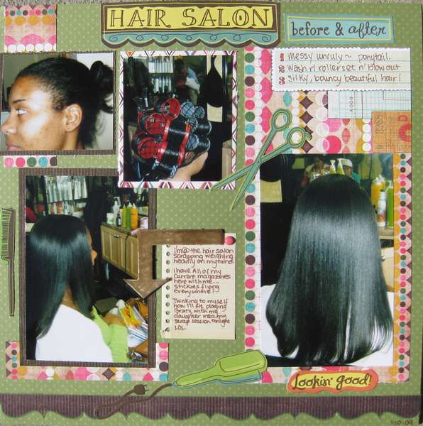 Hair Salon...before & after