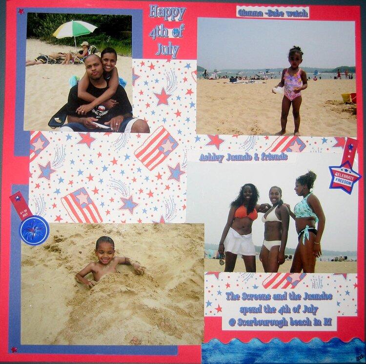 4th of July Beach trip