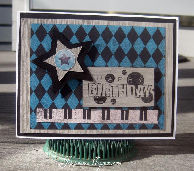 Happy Birthday masculine