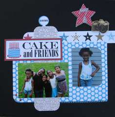 Cake & friends/cousins #22