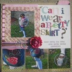 Can I wear a pretty skirt?