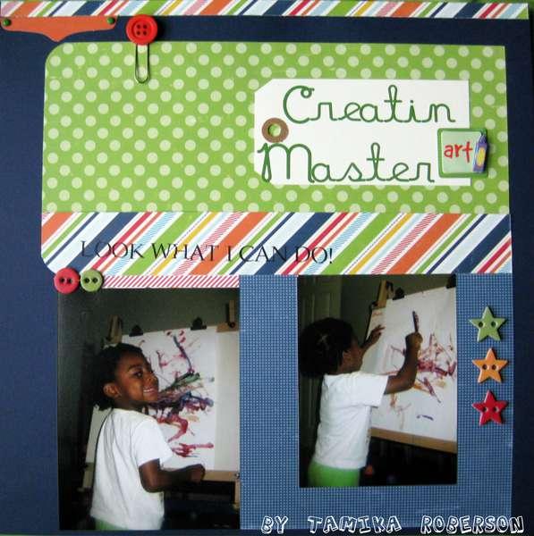 Creatin Master Art