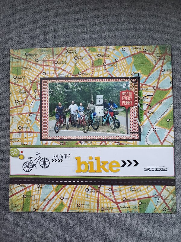 Enjoy the Bike Ride