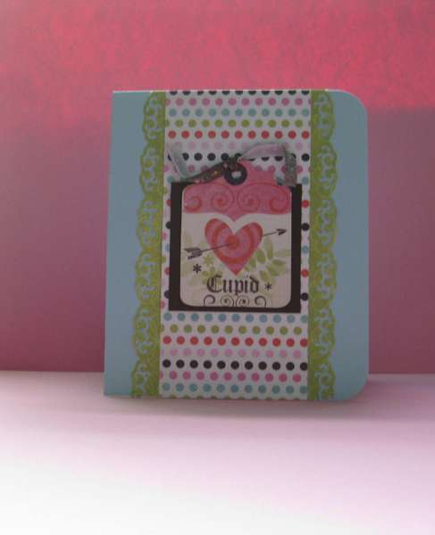 Cupid Valentines Day card