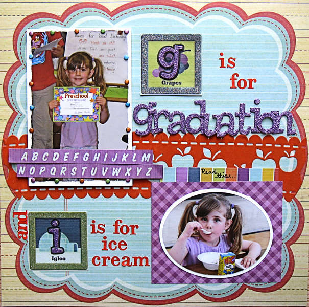 G is for Graduation