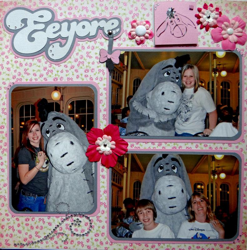 Eeyore - Crystal Palace Magic Kingdom