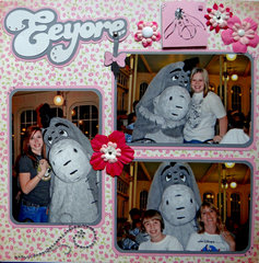 Eeyore - Crystal Palace Magic Kingdom