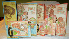 Z-fold Card Set